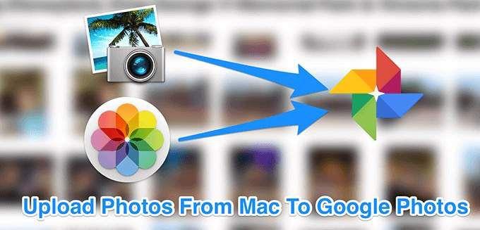 Как загрузить фотографии с Mac в Google Photos