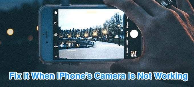 Что делать, если ваша камера iPhone не работает