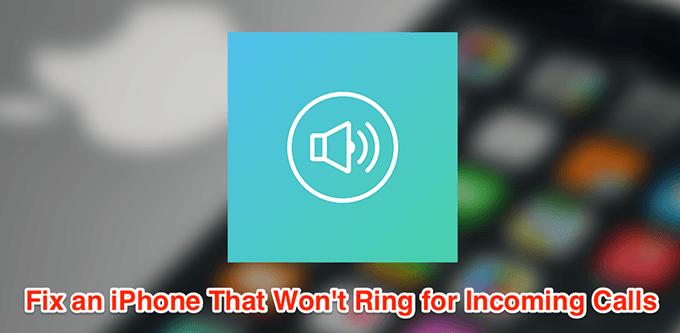 Как исправить iPhone, не звоня на входящие звонки