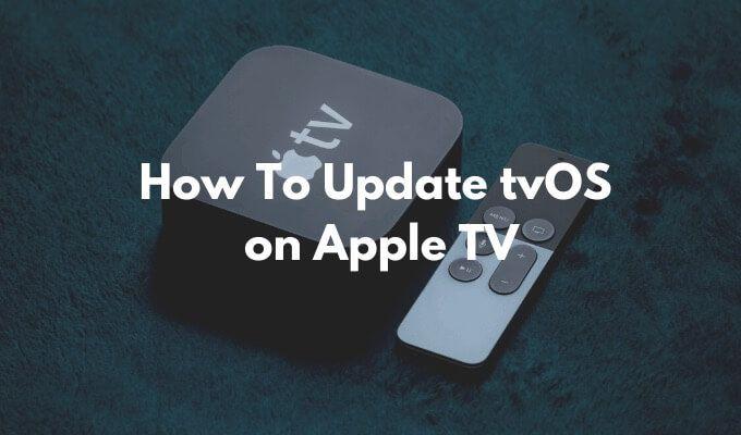 Как обновить tvOS на Apple TV