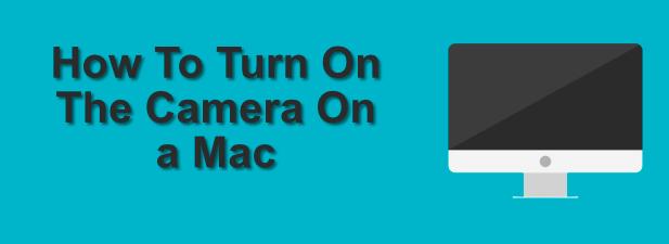 Как включить камеру на Mac