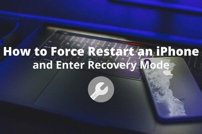 Как принудительно перезагрузить iPhone и войти в режим восстановления