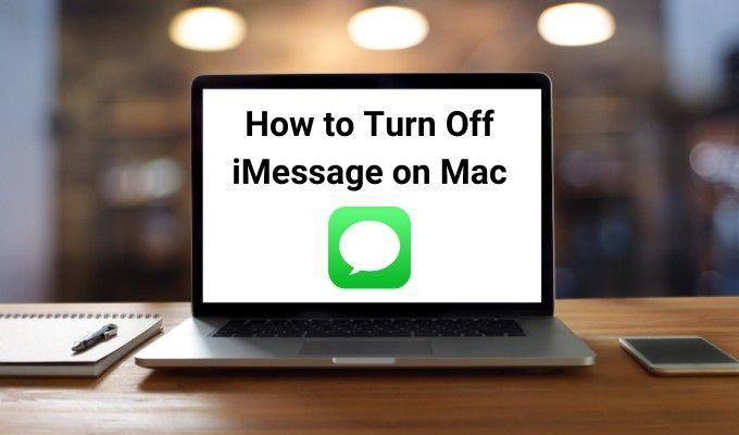 Как выключить iMessage на Mac