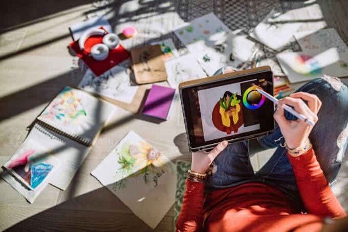 8 лучших приложений для художников на iPad