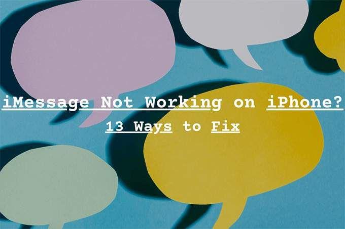 iMessage не работает на iPhone: 13 способов исправить