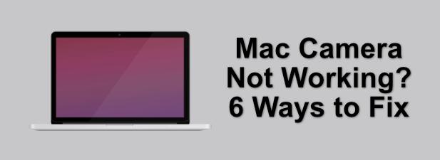 Камера Mac не работает?  6 способов исправить