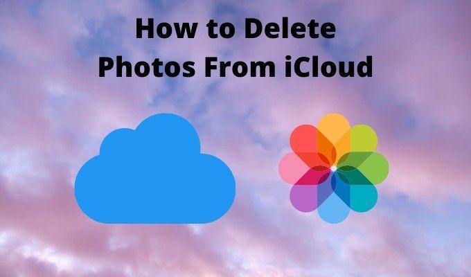 Как удалить фотографии из iCloud
