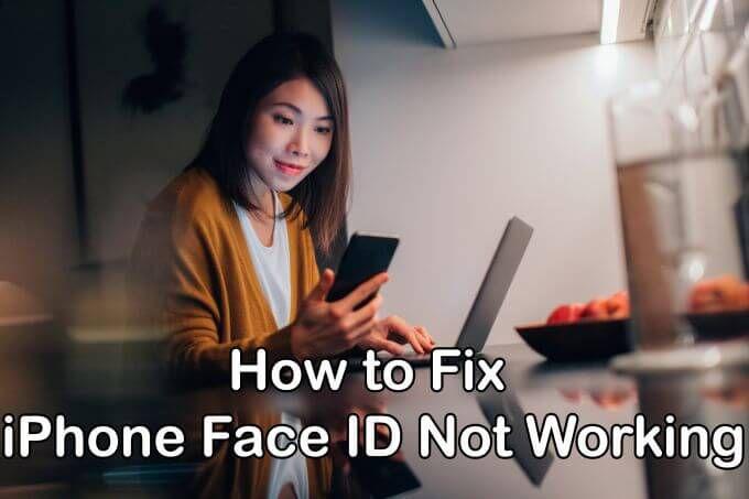 Как исправить iPhone Face ID, не работающий