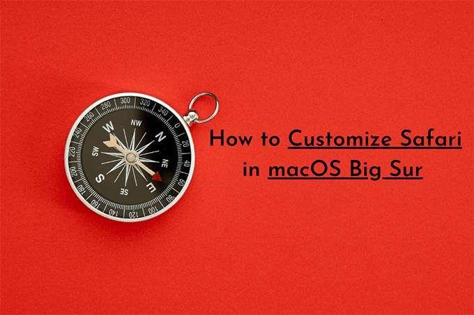 Как настроить Safari в macOS Big Sur
