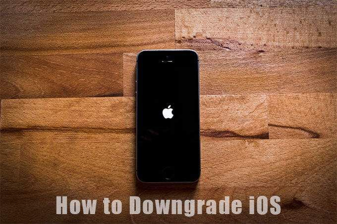 Как понизить версию iOS