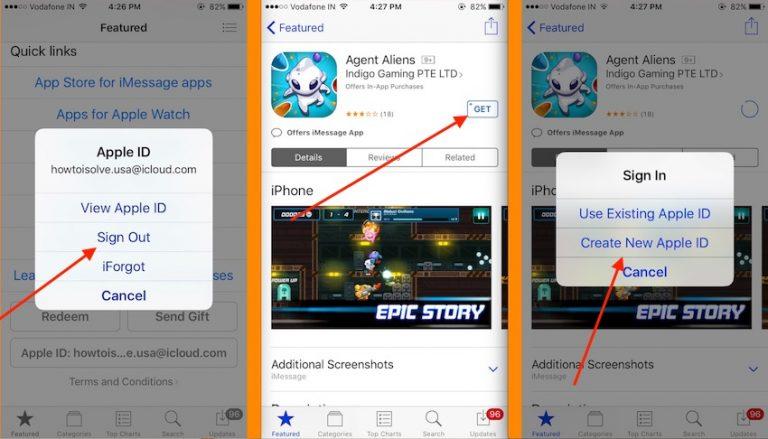 Как загрузить приложения из магазина приложений в США за пределами США на iPhone, iPad