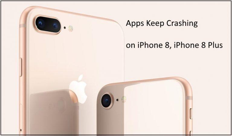 Как исправить сбои приложений на iPhone 8, 8 Plus, iPhone X