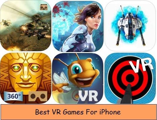 Лучшие VR-игры для iPhone 12, 11, XR, iPhone XS Max, XS 2021 года