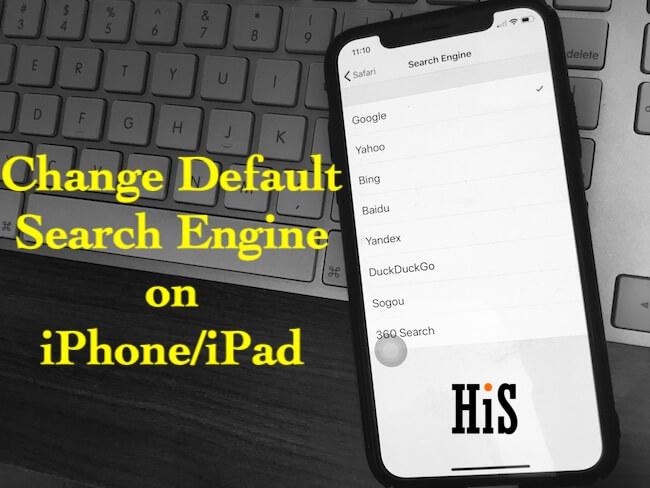 Как изменить поисковую систему по умолчанию в Safari на iPhone, iPad: iOS 14