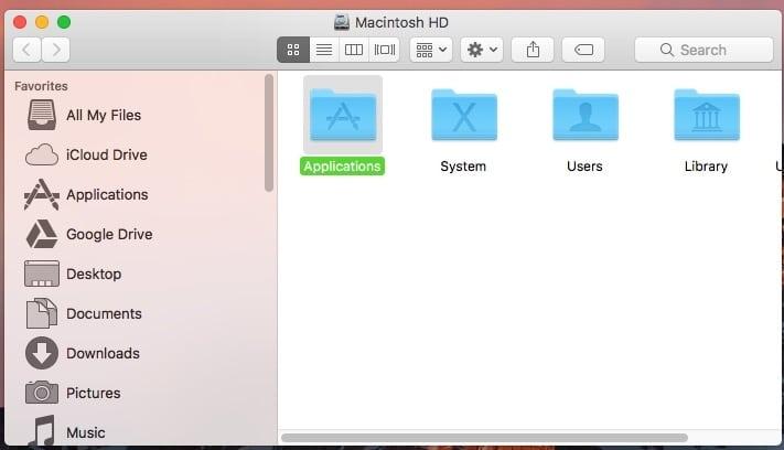 Как изменить размер значка папки или изображения в Finder / Desktop на MacBook