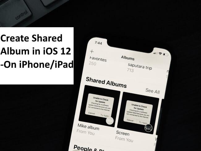 Как создать фотоальбом iCloud в iOS 14 / 13.7 на любом iPhone, iPad