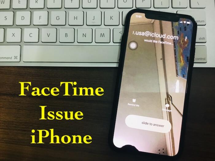 Мой iPhone XS Max / X / iPhone 8 зависает / зависает в FaceTime после обновления