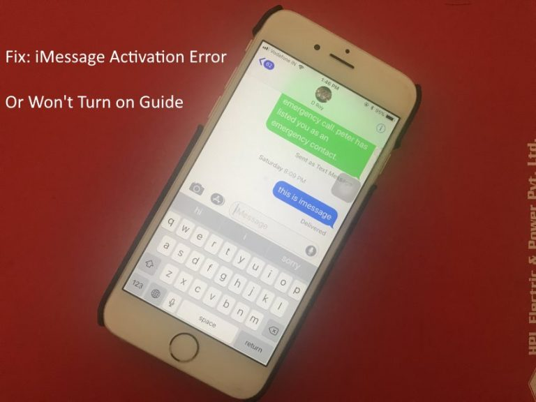 iMessage «Ожидание активации» на iPhone X, iPhone 8, 8 Plus