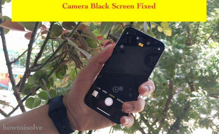 Экран камеры черный на iPhone XS Max / iPhone XS: блокировка / главный экран