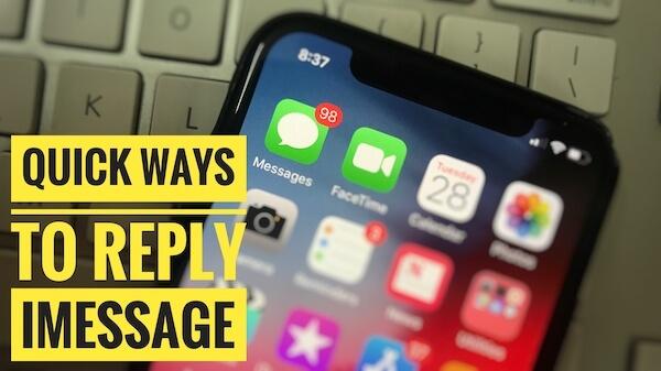 Самый быстрый способ ответить в iMessage на iPhone и iPad: вот как