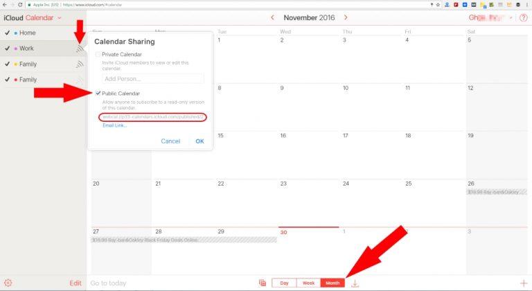 Как перенести / синхронизировать / экспортировать календарь из iCloud в Календарь Google