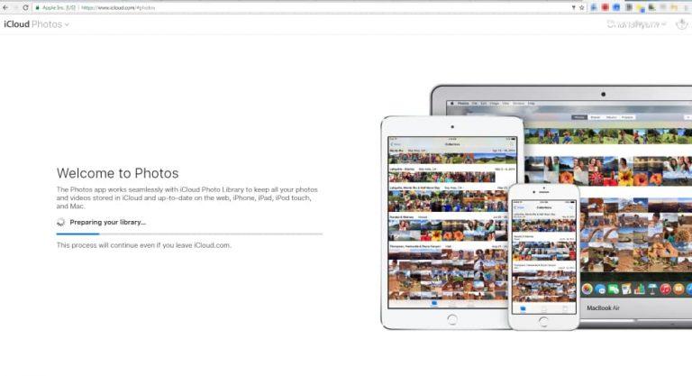 Загрузите фотографии iCloud на Mac или Windows