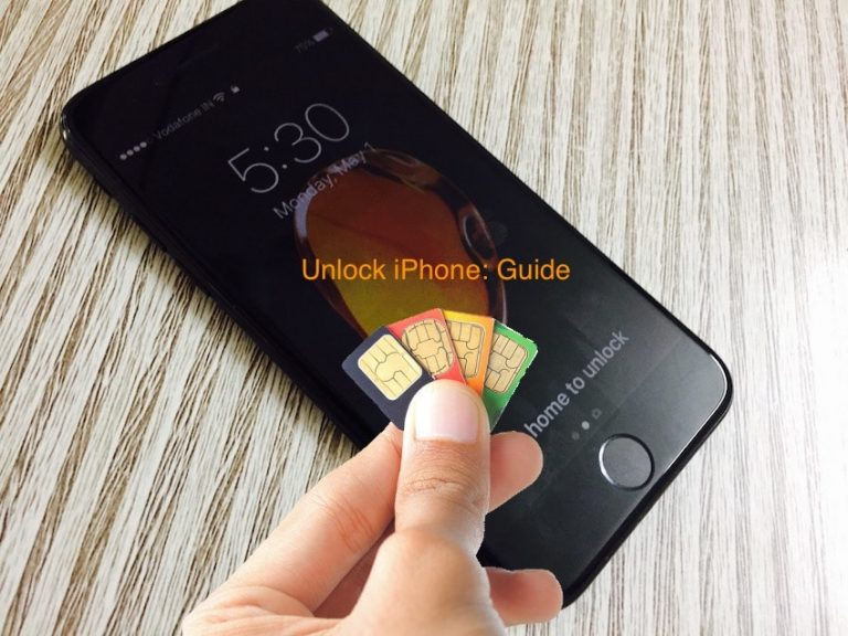 Шаги по разблокировке iPhone 7 и iPhone 7Plus