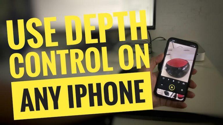Как получить эффект глубины на iPhone X, iPhone 8 Plus, iPhone 7 Plus, 6, SE