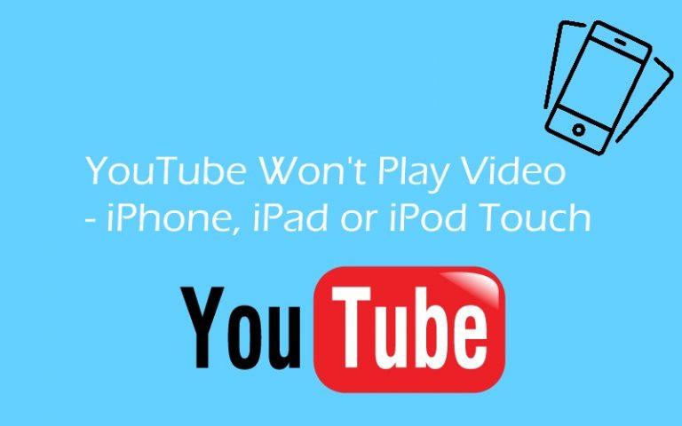 YouTube 2021 года не будет воспроизводиться в фоновом режиме на iPhone, iPad, iPod Touch