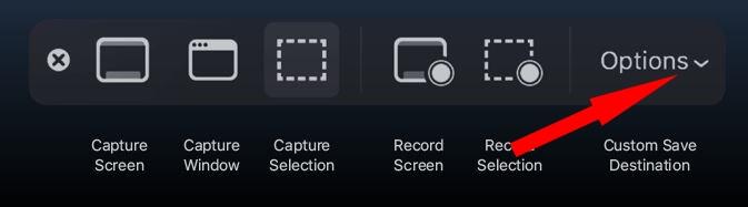 Как изменить настройки снимка экрана на Mac, MacBook