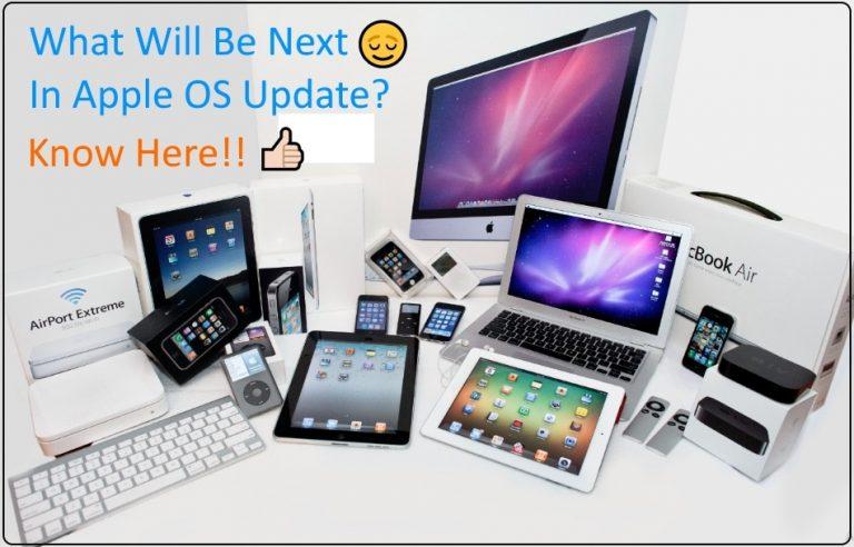 iOS 10.3, tvOS 10.2, WatchOS 3.2, MacOS 10.12.4