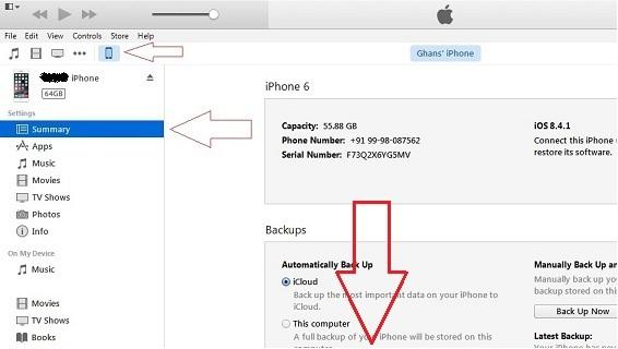 Отключите автоматическую синхронизацию iPhone с помощью Finder / iTunes через Wi-Fi на Mac / ПК