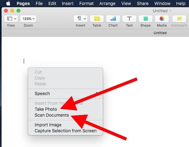 Как сканировать документы с помощью камеры Continuity на Mac и iPhone