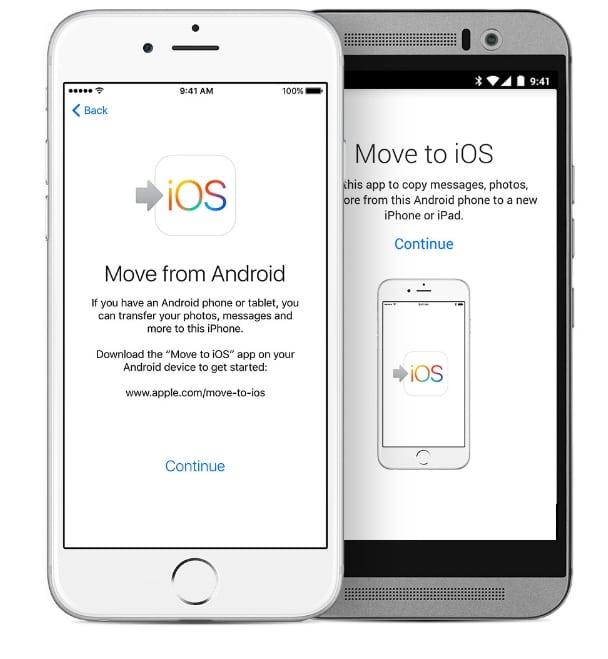 Как перейти с Android на iPhone 12,11, X, iPhone 7 (+), 8 (Plus) / 6 / 6S