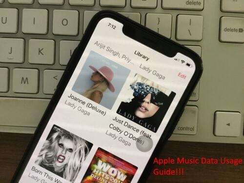 Использует ли Apple Music данные, если песни загружены?  Получить ответ