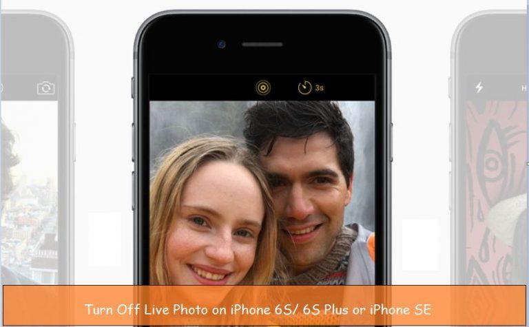 Как отключить Live Photos в приложении камеры iPhone?