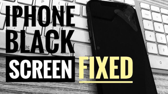 Черный экран смерти iPhone XS Max после зарядки или обновления