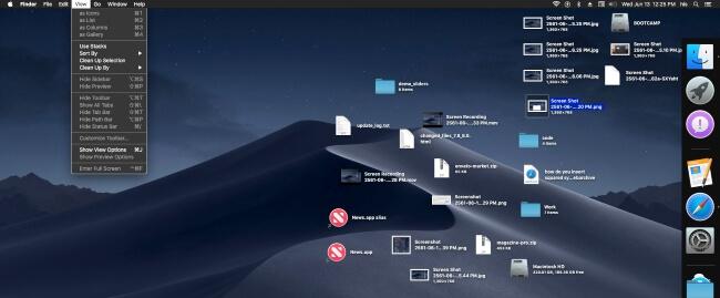 Как использовать стеки для рабочего стола на macOS Big Sur, Catalina MacBook, iMac