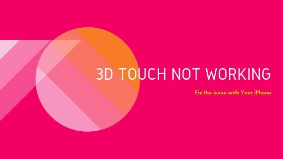 [Fixed] 3D Touch не работает на iPhone XR / XS (Max) / iPhone X / 8 (Plus)