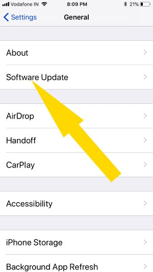 Приложение Notes, Safari, Files продолжает вылетать после обновления iOS iPhone, iPad
