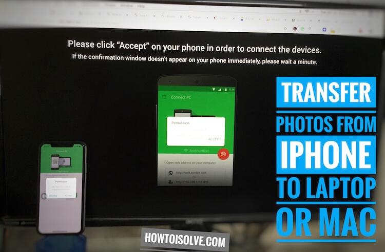 Как загрузить фотографии с iPhone на ПК / Mac без кабеля, iTunes, S / W