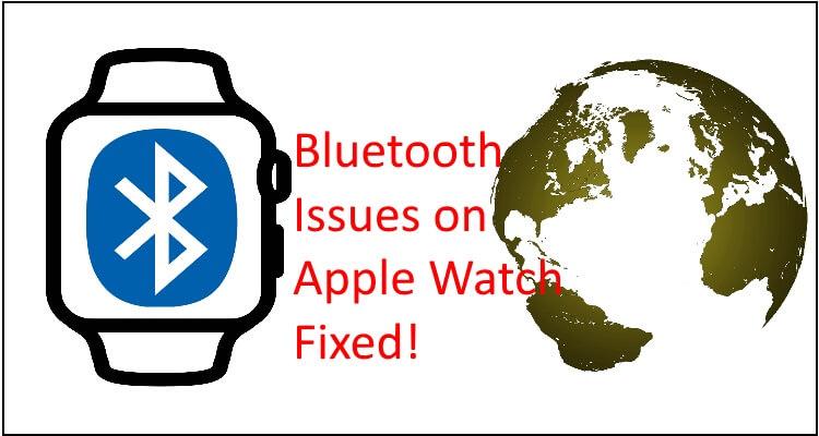 Bluetooth не подключается на Apple Watch Series 6 / SE / 54/3/2/1