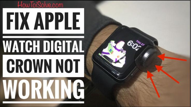 Кнопка Apple Watch Digital Crown застряла и не отвечает: 6/5/4 старше ..
