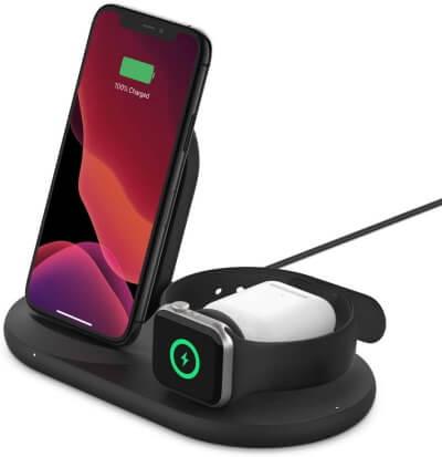 Лучшая док-станция для беспроводной зарядки для iPhone, Apple Watch, AirPods Pro в 2021 году