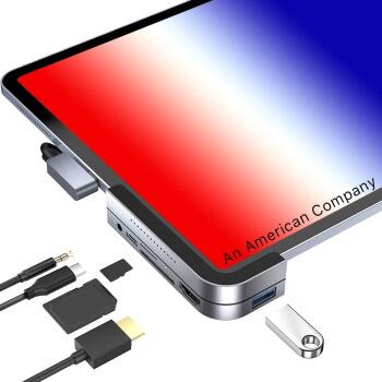 Лучшие концентраторы USB C для iPad Pro 2021 года [11-inch and 12.9-inch iPad Pro]
