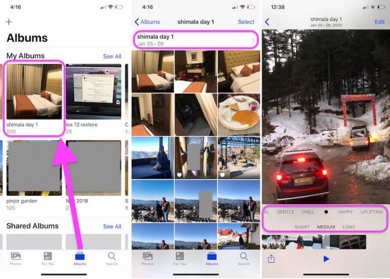 Создание видео из изображений в iOS: iPhone, iPad, iPod: приложения для создания видео