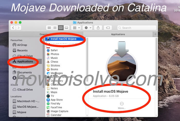 Загрузите macOS Catalina / Mojave из магазина приложений macOS BigSur / Catalina