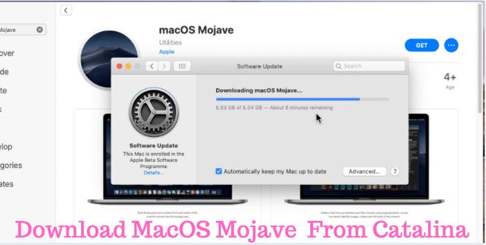 Как понизить версию macOS Big Sur, Catalina до macOS Mojave на Mac
