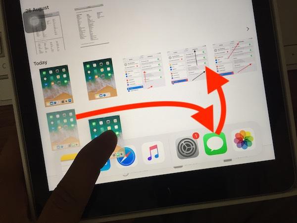 Как использовать многозадачность на iPad, перетаскивание, разделение, скольжение