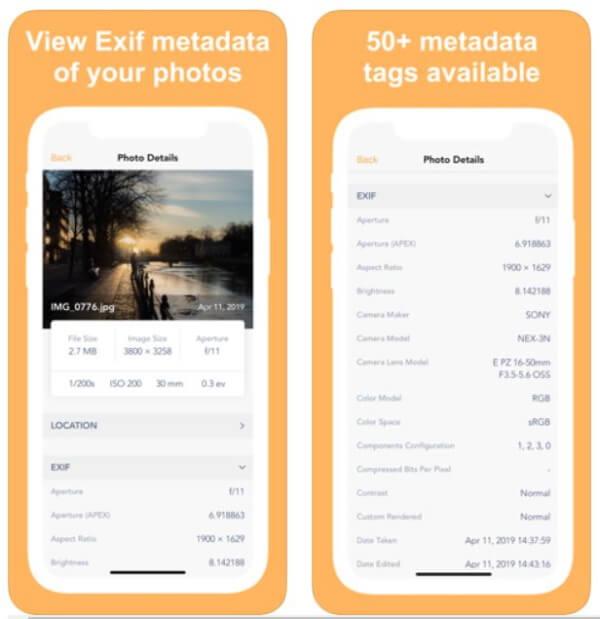 Классный способ увидеть информацию о фото на iOS